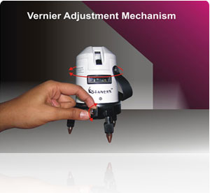 Fine Vernier Adjustment Mechanism