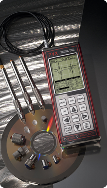 Material & Coating Thickness Gauges : pvx