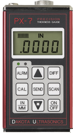 Material & Coating Thickness Gauges : PX7