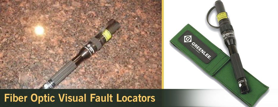 Fiber Optic Visual Fault Locators