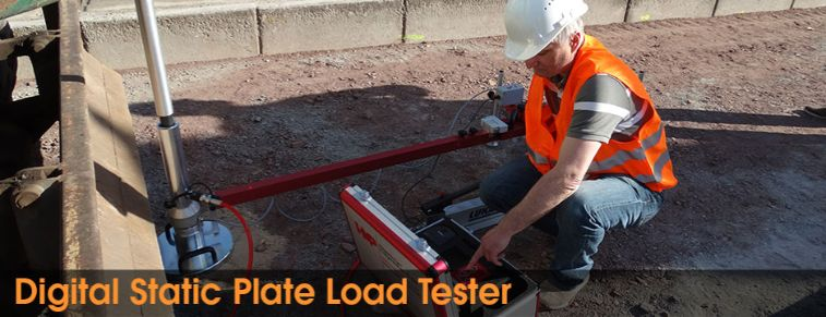 Digital Static Plate Load Tester