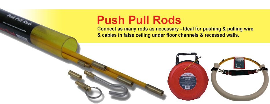 Fish Tapes & Push Pull Rods