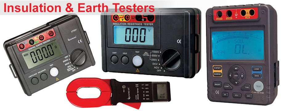 Insulation & Earth testers