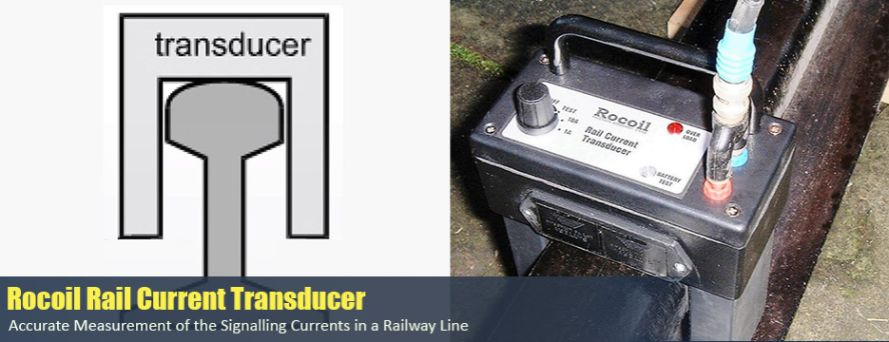 Rocoil Rail Current Transducer