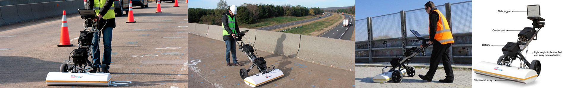 RIS Hi Bright Bridge Inspection GPR