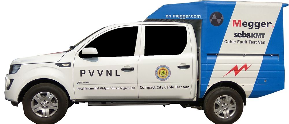 Megger Cable Fault Test Vans
