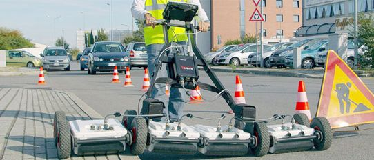 GPR Ground Penetrating Radar Equipment Supplier in India