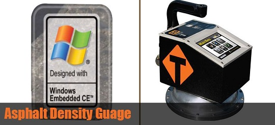 Soil & Asphalt Density Gauge