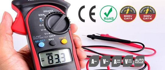 AC Digital Clamp Meter 201