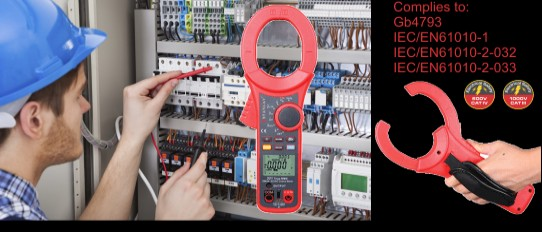 2000A AC/DC Clamp Meter 221