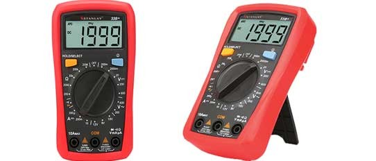 33B+ Palm Size Digital Multimeter