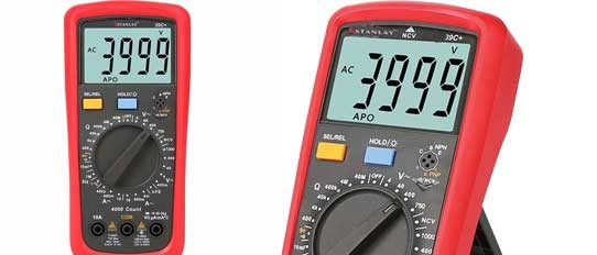 39C+ Modern Digital Multimeter
