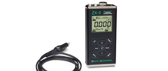 ZX5-Data Logging Ultrasonic Thickness Gauge