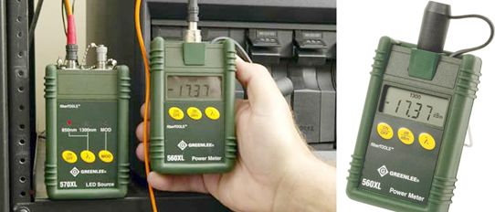 560XL Fiber Optic Power Meter