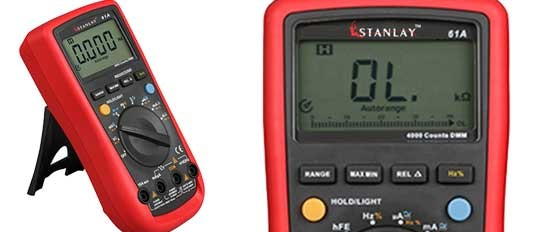 61A Auto Ranging Modern Digital Multimeter