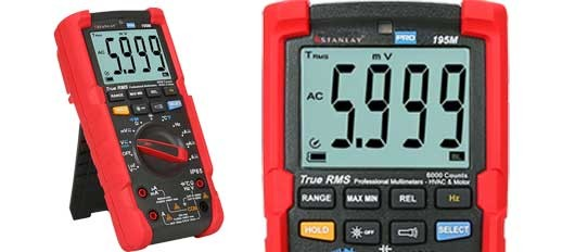 195M True RMS 20A Ruggedized Multimeter
