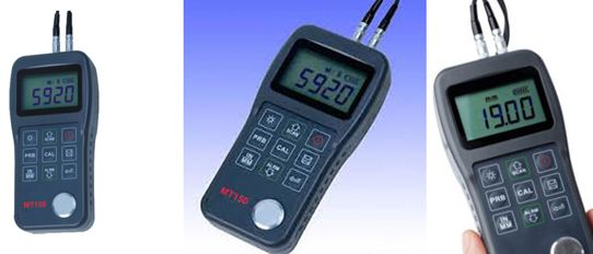 Digital Ultrasonic Material Thickness Gauge - 160