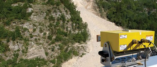 IBIS-FM Interferometric Mine Slope Radar