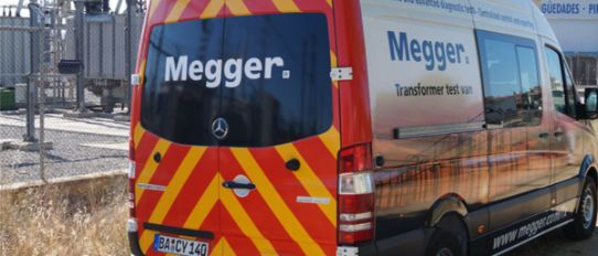 Megger Variant Cable Test Van