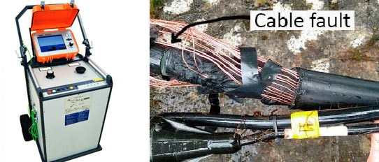 SFX16 2000J Cable Test & Fault Location System