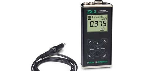 ZX3 Ultrasonic Thickness Gauge