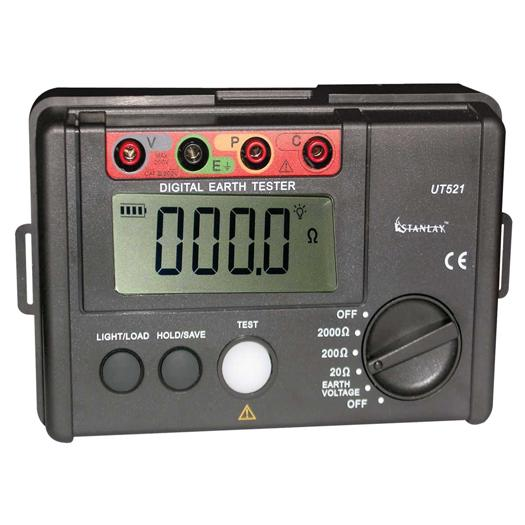 Digital Earth Ground Resistance Tester