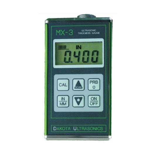 MX3 Digital Ultrasonic Material Thickness Gauge