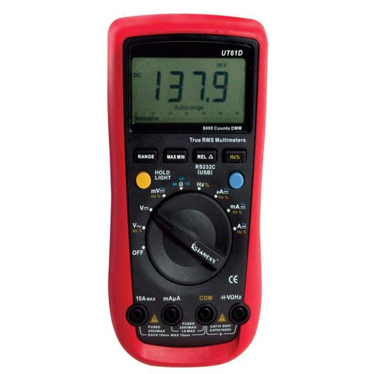 61 D True RMS Digital Multimeter