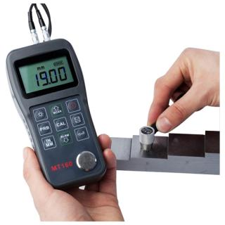 Digital Ultrasonic Material Thickness Gauge Video