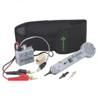 GREENLEE 701k-G/6A Tone and Probe Tracing Kit(With large Clips)