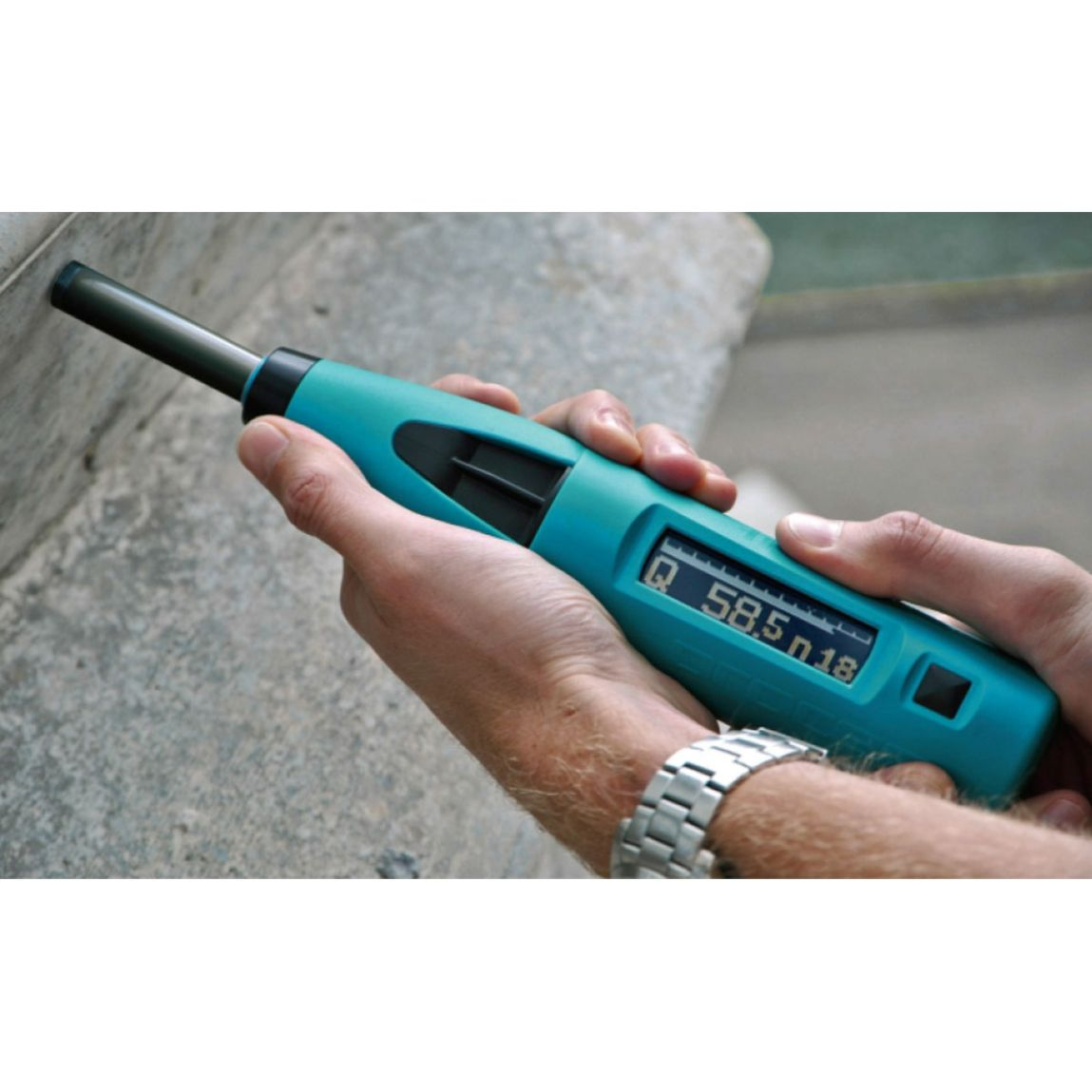 Proceq Silver Schmidt PC/ST Digital Concrete Test Hammer