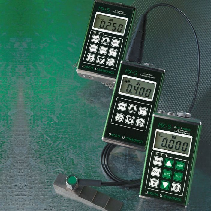 MX5 DL Digital Ultrasonic Material Thickness Gauge