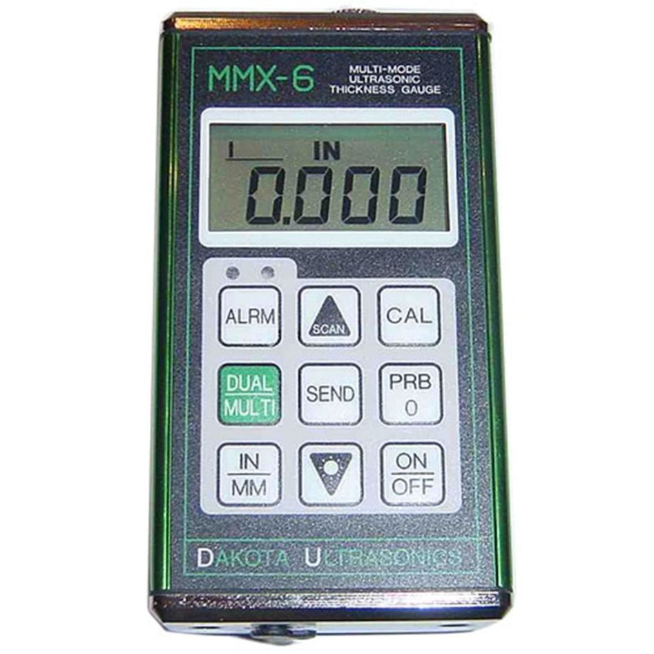 MMX-6 Digital Multimode Ultrasonic Thickness Gauge.