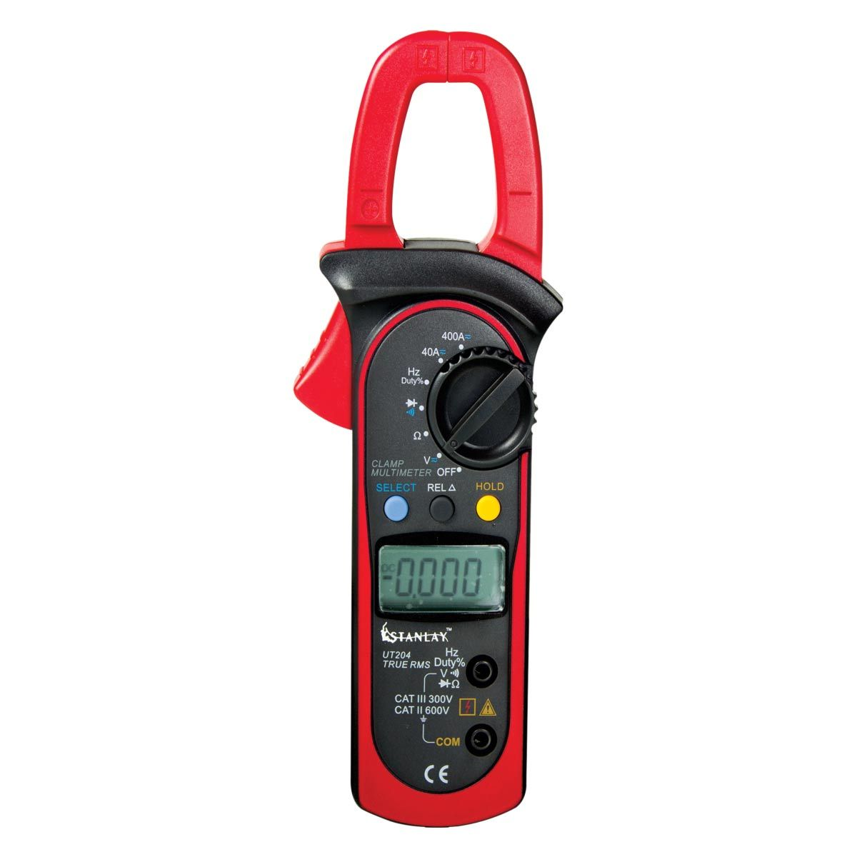 True RMS AC/DC Clamp meter 204