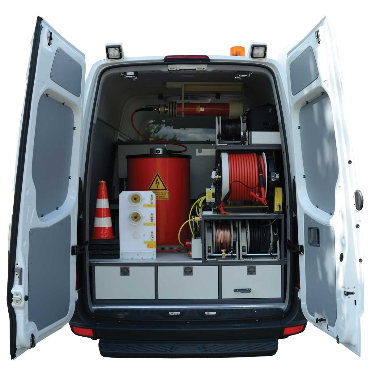 megger cable test van power cable fault test vans in india. Black Bedroom Furniture Sets. Home Design Ideas