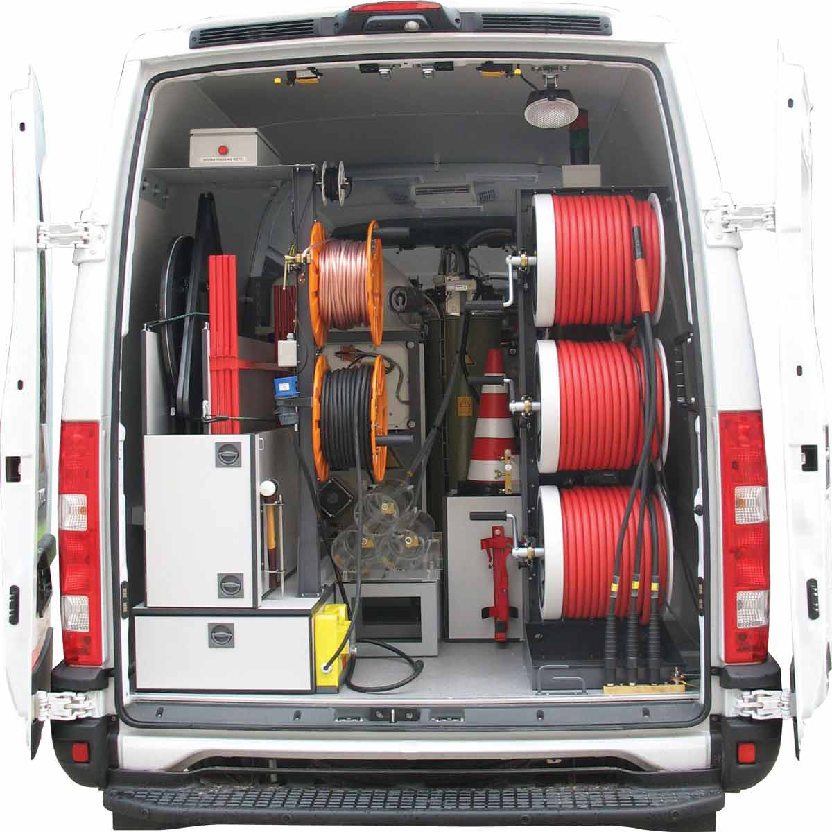 Megger System Classic Single or Three Phased Cable Test Van