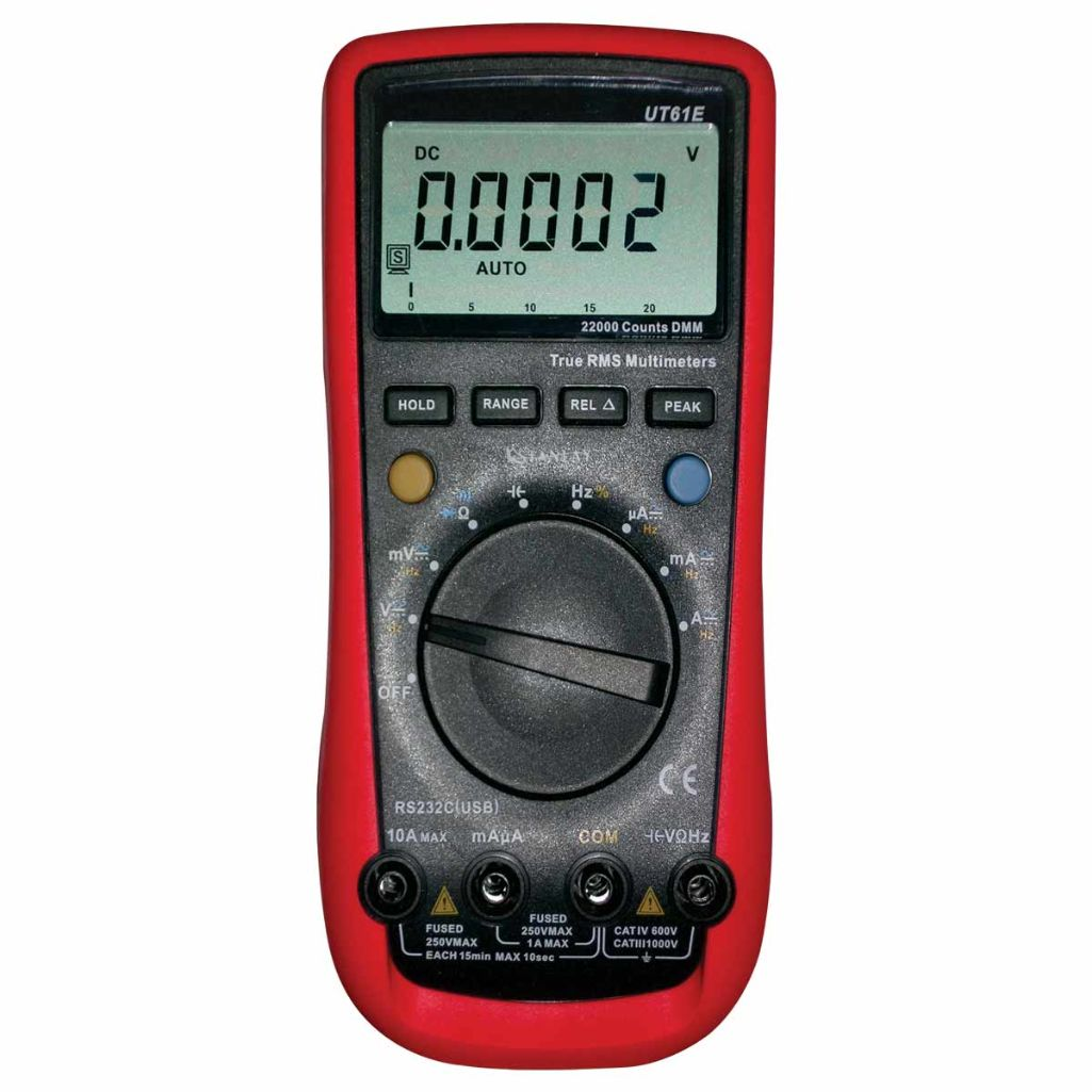 61 E : True RMS Digital Multimeter