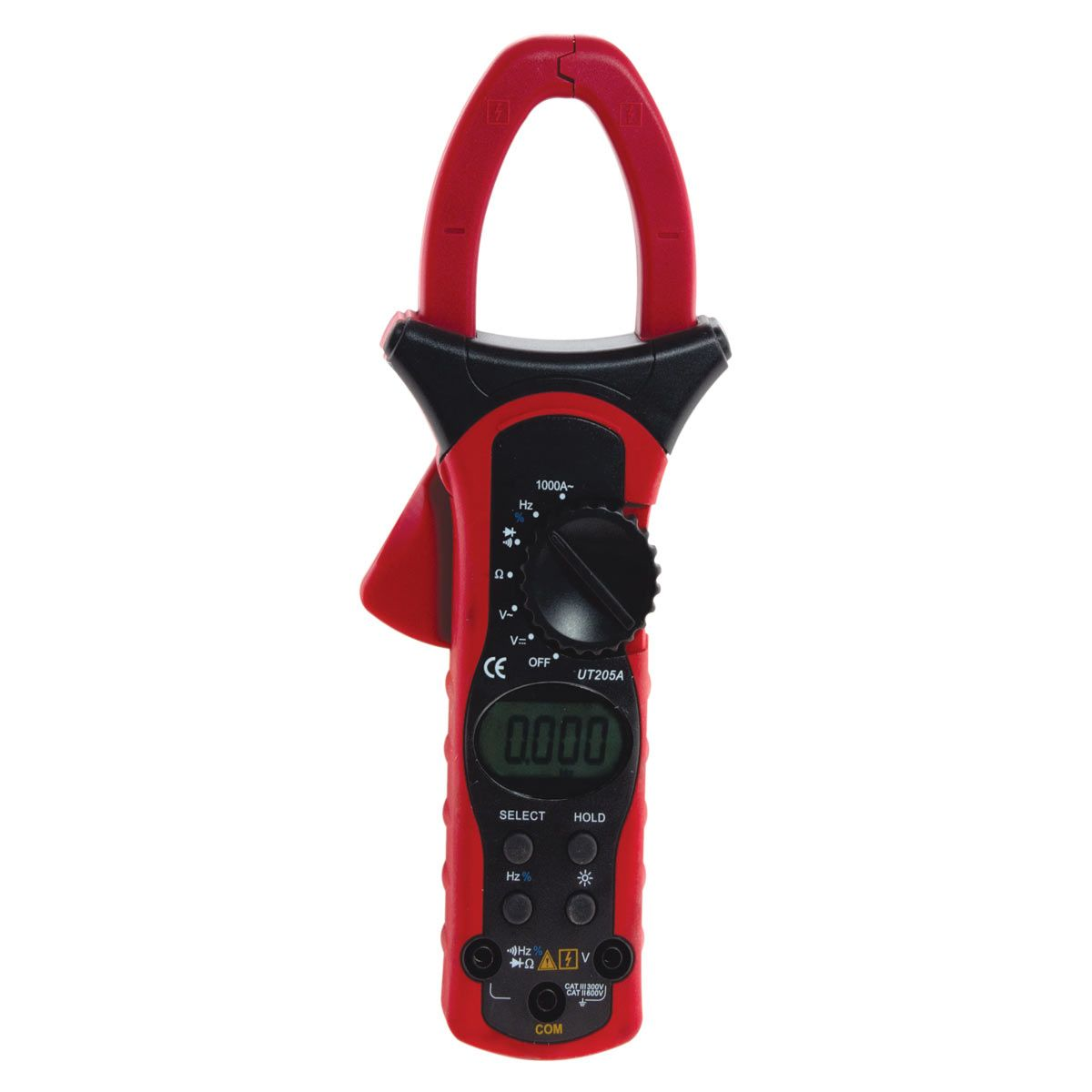 True RMS AC/DC Clamp meter 208