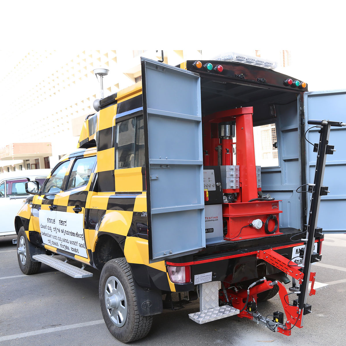 Pavetesting Vehicle Mounted Falling Weight Deflectometer